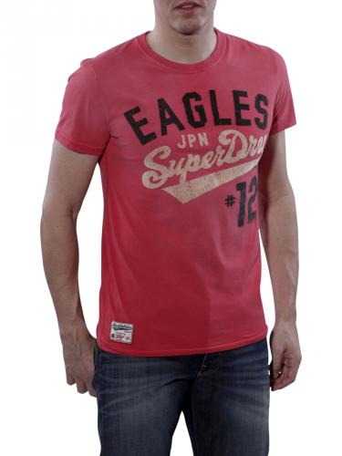 Superdry Team Eagle Flock Tee roccoco
