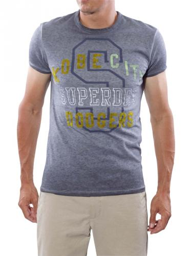 Superdry Dodgers Sunscorched Tee rinsed navy
