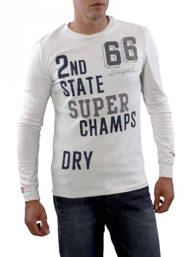 Superdry Champions Tee dirty chalk