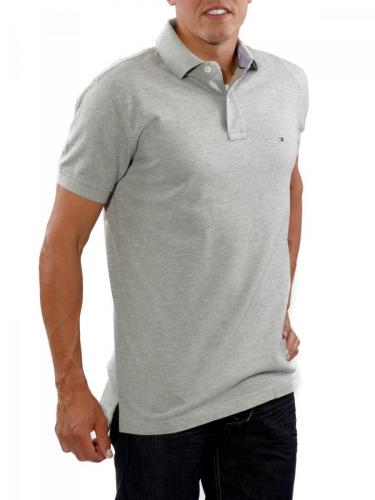 Tommy Hilfiger Polo Piqué grey