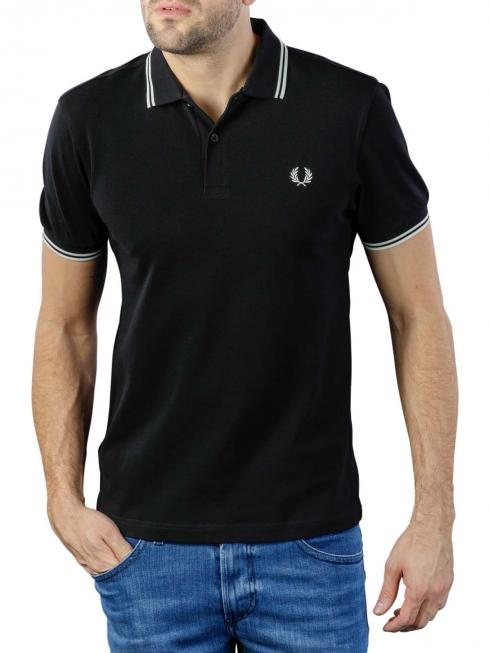 Fred Perry Polo Piqué black/porcelain