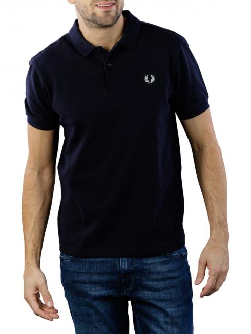Fred Perry Plain Polo Shirt navy