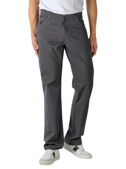 Wrangler Texas Stretch Jeans Straight navy grey