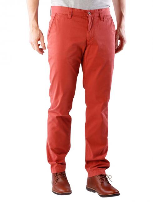 Alberto Lou Pants Compact Cotton red