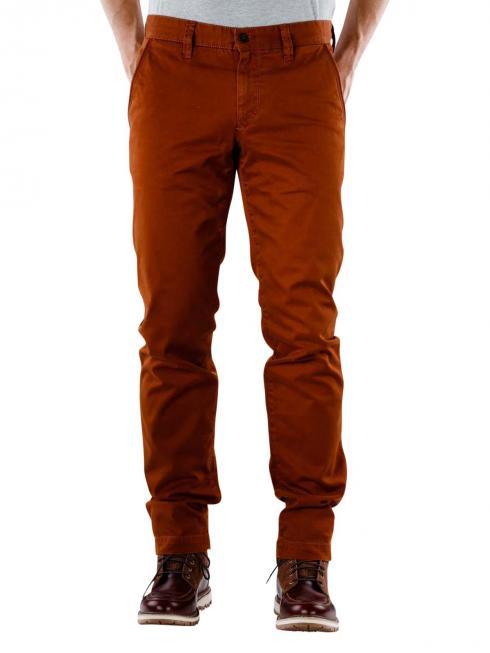 Alberto Lou Pant Pima Cotton red