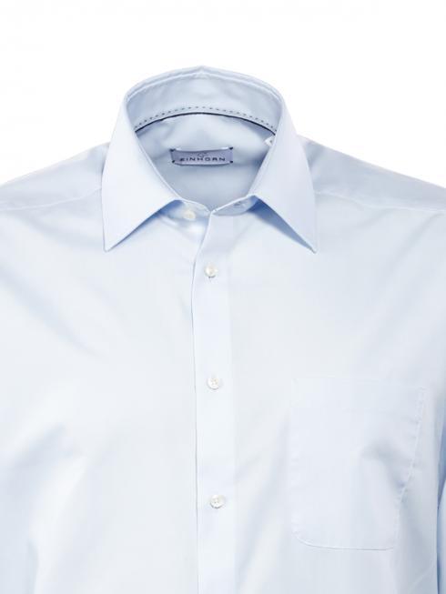 Einhorn Chemise Derby Regular Fit sans repassage light blue