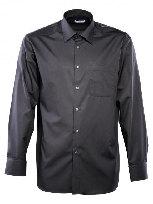Einhorn Hemd Derby Regular Fit Kent bügelfrei black