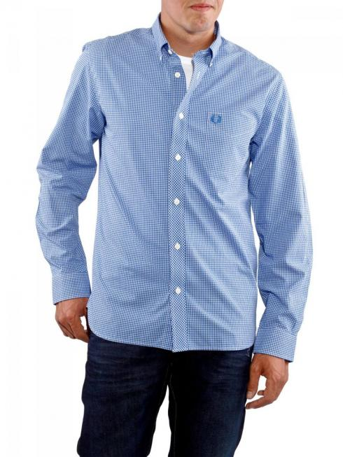 Fred Perry Gingham Shirt blue