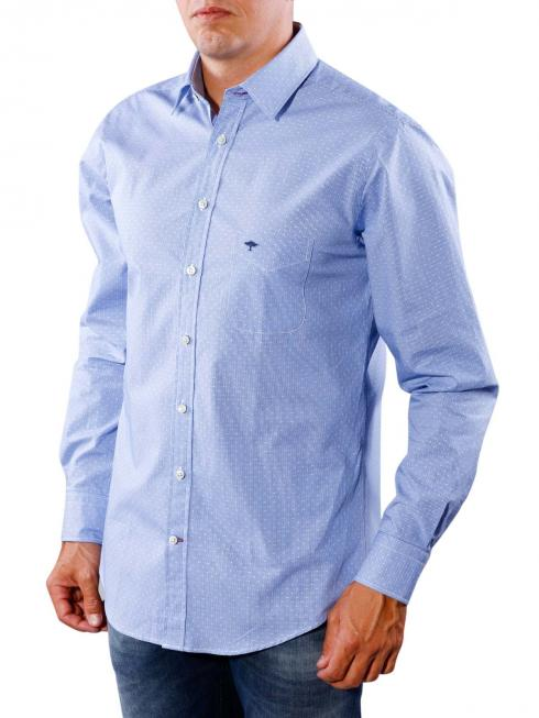 Fynch-Hatton Kent Shirt blue check