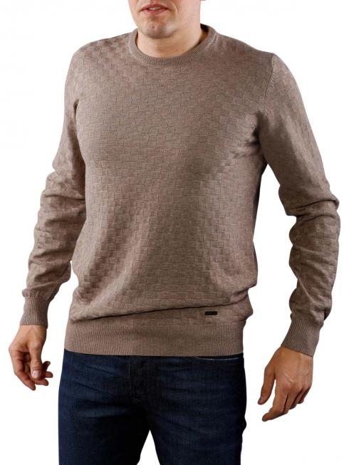 Fynch-Hatton O-Neck Pullover taupe