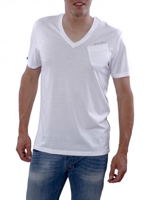 G-Star NY Regular V solid white