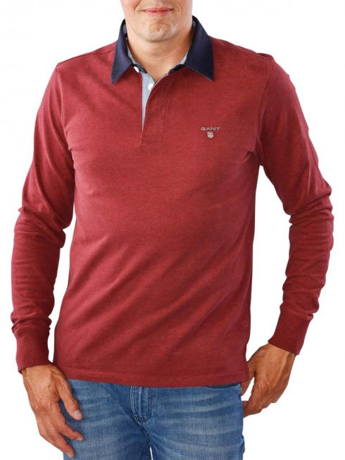 Gant The Original Heavy Rugger dark burgundy melange