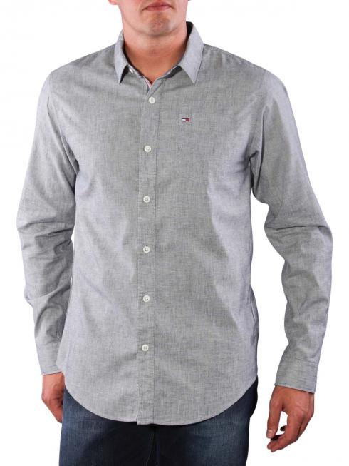Tommy Jeans Teddy Shirt light grey htr