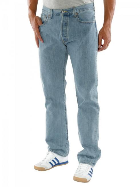 Levi's 501 Jeans light stonewash