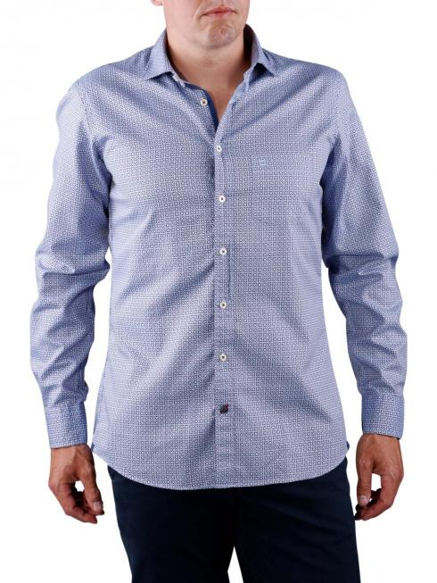 Olymp Casual Shirt blue/red karo
