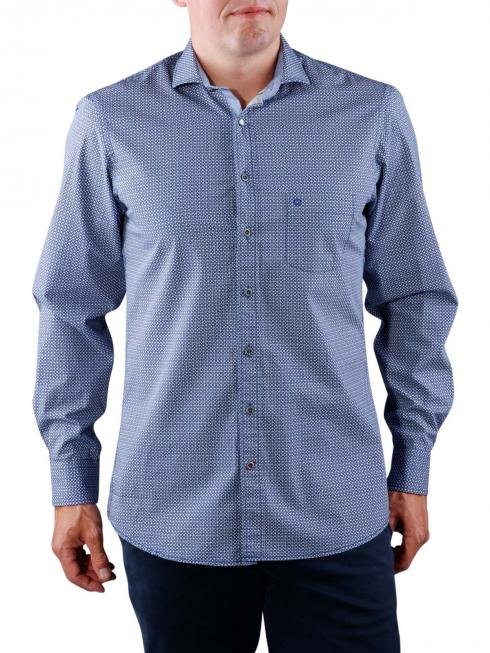 Olymp Casual Shirt blue and white