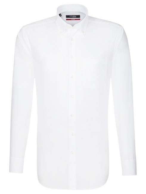 Seidensticker Chemise Regular Fit Button-down sans fer white