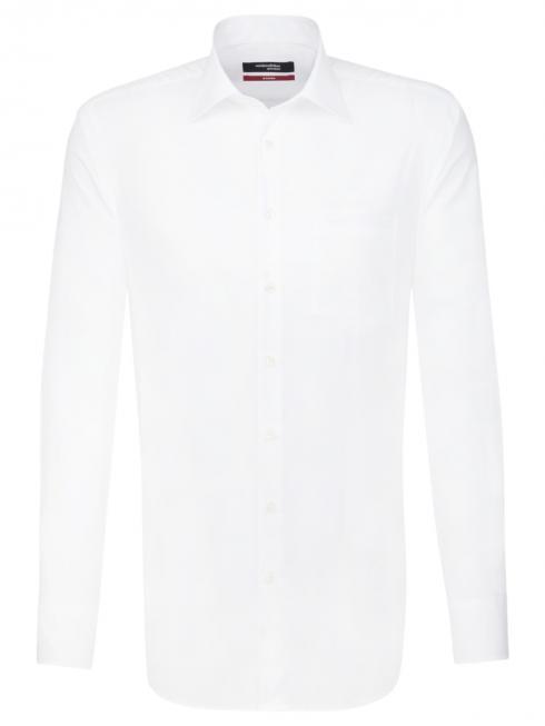 Seidensticker Hemd Regular Fit Kent ELA bügelfrei white