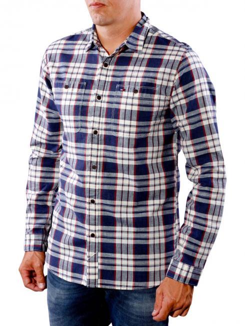 Tommy Jeans Basic Vintage Shirt black iris/multi