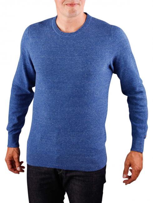 Tommy Hilfiger Cotton Wool Slub Sweater true navy