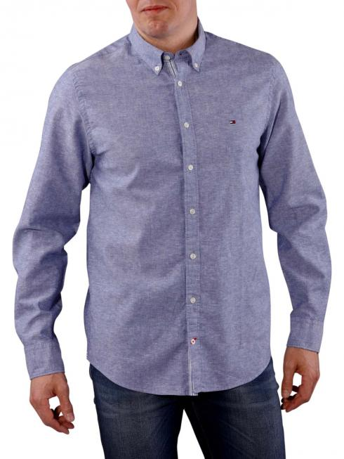 Tommy Hilfiger Cotton Linen Shirt twilight blue