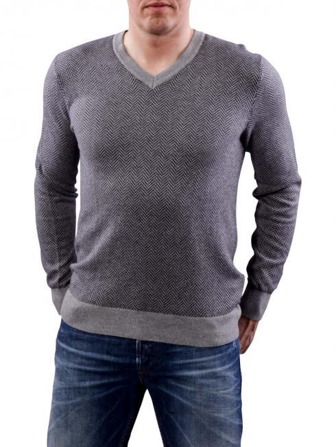 Tommy Hilfiger SID V-Neck Shirt silver fog