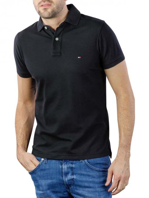 Tommy Hilfiger Polo slim fit black