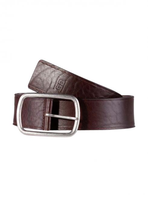Jim dark brown 45mm by BASIC BELTS