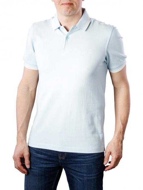 Fred Perry Twin Tipped Polo Shirt sky blue oxford/ecru/ecru