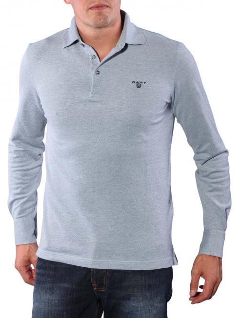 Gant Oxford Pique Shirt ice blue