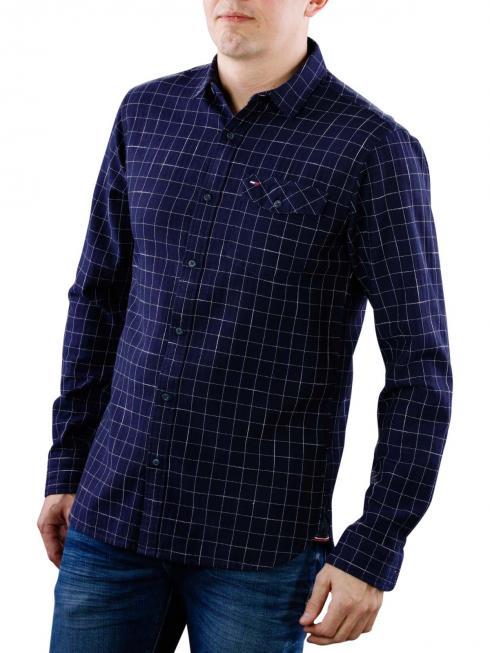 Tommy Jeans Reg Shirt blue depths