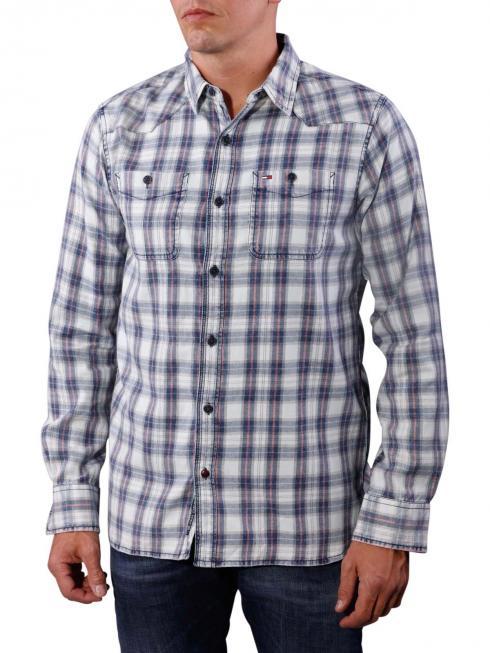 Tommy Jeans Alex Shirt indigo/multi