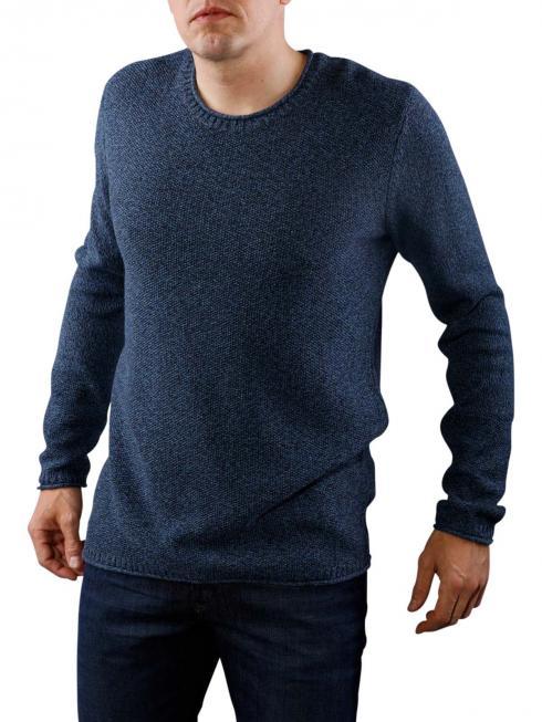 Tommy Jeans Basic Text navy blazer