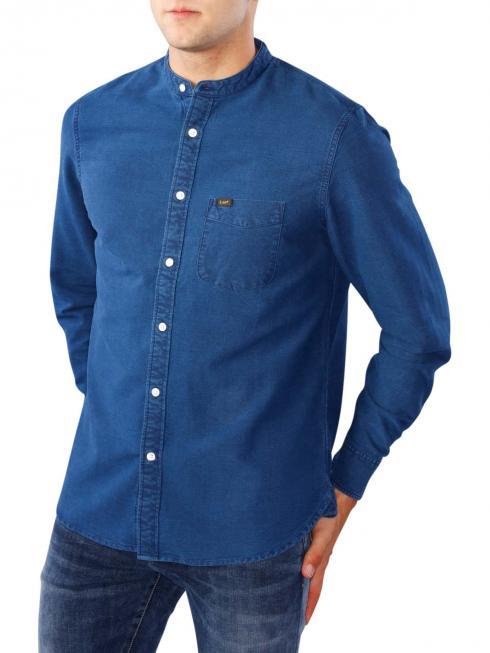 Lee Premium Bandcollar Shirt indigo