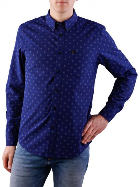 Lee Button Down Shirt deep indigo