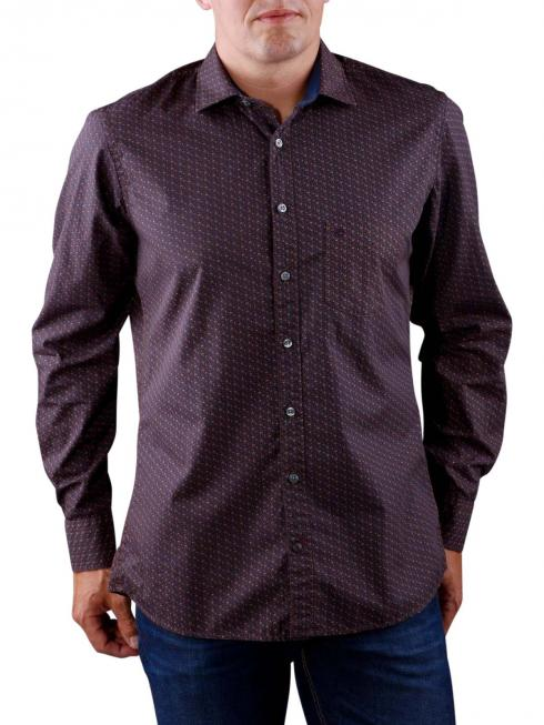 Olymp Casual Shirt dark blue