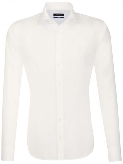 Seidensticker Shirt Shaped Fit Kent non iron ecru