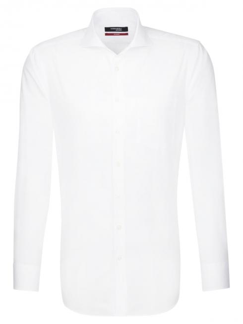 Seidensticker Hemd Regular Fit Hai bügelfrei white
