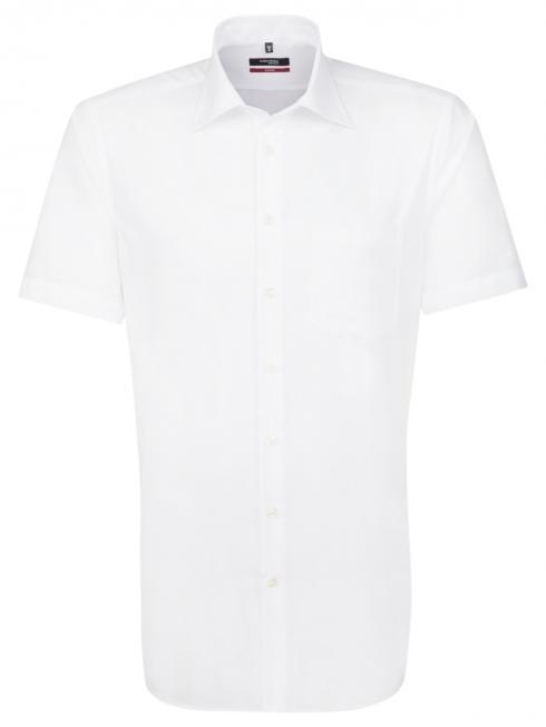 Seidensticker Hemd Regular Fit Kent bügelfrei white