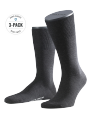 Falke 3-Pack Airport anthracite - image 1