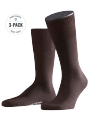 Falke 3-Pack Airport brown - image 1