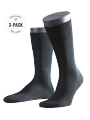 Falke 3-Pack Tiago black - image 1