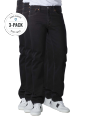 Levi's 501 Jeans Straight Fit black 3-Pack - image 1