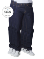Levi's 501 Jeans Straight Fit rinse 3-Pack - image 1