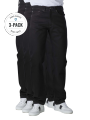 Levi's 505 Jeans Straight Fit black 3-Pack - image 1