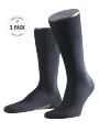 Falke 3-Pack Airport dark navy - image 1