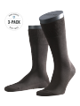 Falke 3-Pack Tiago brown - image 1