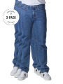Levi's 505 Jeans Straight Fit stonewash 3-Pack - image 1
