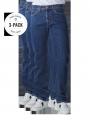 Levi's 505 Jeans Straight Fit dark stonewash 3-Pack - image 1