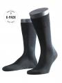 Falke 6-Pack Tiago black - image 1